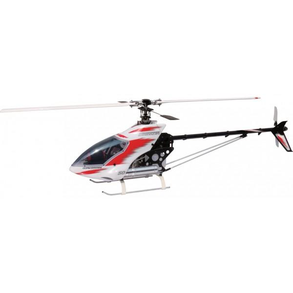 Τηλεκατευθυνόμενα ελικόπτερα, JR Helidivision, Airskipper 50Bd kit, για .50 OSMax κινητήρα