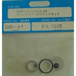 CARBURATOR GASKET SET FA150S 3 Saito Spare Parts