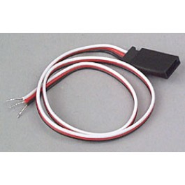 FUTABA CONNECTOR 15CM 26AWG FEMALE Extensions,Cords,Switches
