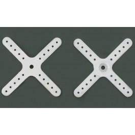 Βραχίονας σταυρός  μικρός πλαστικός για Futaba S3108-3110-3154 σέρβο