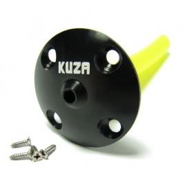KUZA REFUELING ALUMINUM VENT BLACK