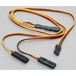 CMD Y-HARNESS JR/HITEC/AIR Z Extensions,Cords,Switches